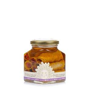 Rouleaux d'aubergine à l'huile d'olive extra vierge 260 g