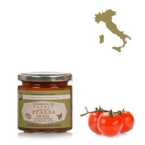 Sauce tomate et basilic 200g