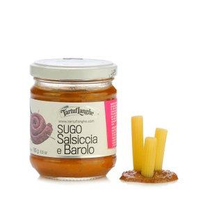 Sauce à la saucisse et vin Barolo 180 g