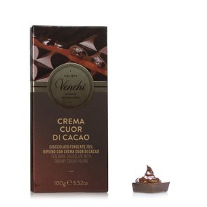 Tablette fourée Cuor Di Cacao 110 g