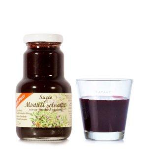 Jus de myrtille sans sucre 200 ml