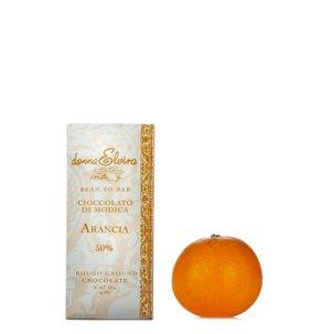 Chocolat de Modica à l'orange 70 g