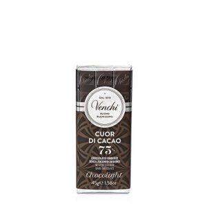 Tablette de chocolat noir allégée 45 g