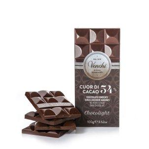 Tablette Chocolight chocolat noir 54 % 100 g