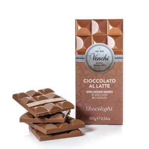 Tablette Chocolight chocolat au lait supérieur 100 g