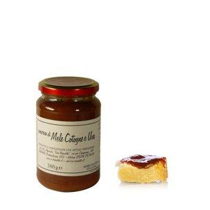Conserve coing et raisins 380 g