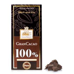 Tablette Gran Cacao pate de Cacao 100 %  100g