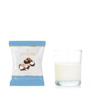 Dragées à la noix de coco enrobées de chocolat 50 g