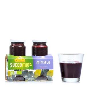 Succomio myrtille 2 x 200 ml