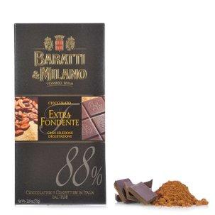 Tablette de chocolat noir 88 % 75 g