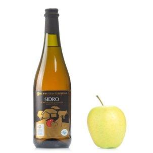 Cidre de pommes anciennes piémontaises 0,75 l