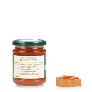 Sauce au basilic pour bruschetta 180 g