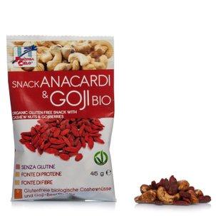 Snack à la Noix de cajou et Goji biologique 45g