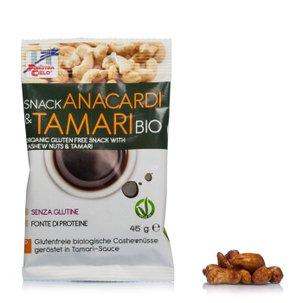Snack à la Noix de cajou et Tamari biologique 45g