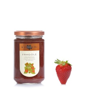 Confiture extra de fraises  350g
