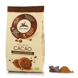 Sablés au cacao avec pépites de chocolat 300g