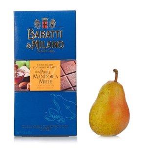 Tablette au miel amandes et poires 75 g