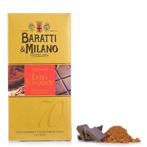 Tablette de chocolat au lait et caramel 75 g