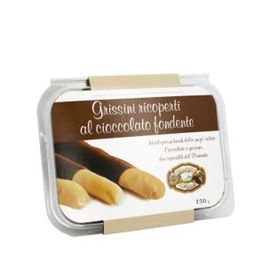 Grissini Ricoperti Al Cioccolato Fondente 150g 150g