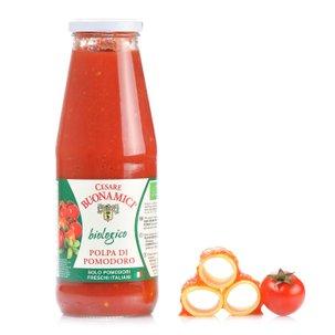 Pulpe de tomates biologiques 690 g