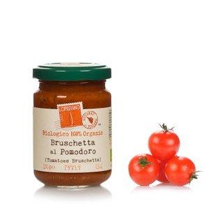Sauce bruschetta biologique à la tomate 150g