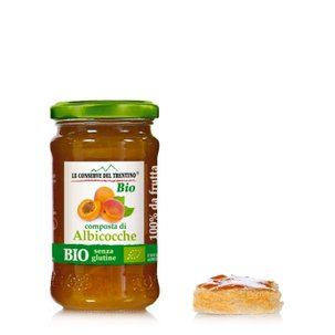 Compote biologique d'abricot 250g