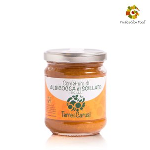 Confiture d'abricots de Scillato 220g