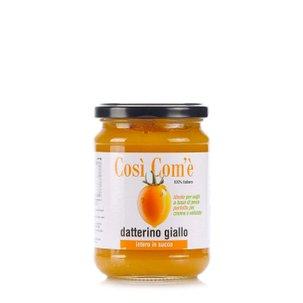 Tomate Datterino jaune dans son jus 350 g