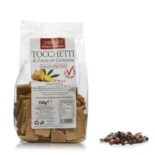 Tocchetti Gingembre et Poivre 150 g