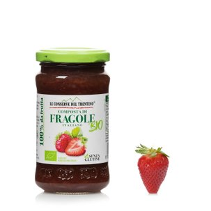 Compote de fraises biologique 250g