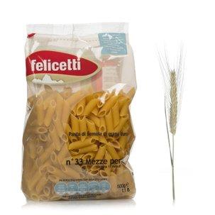 Mezze penne au blé dur 500g 500g