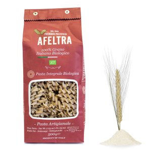 Tortiglioni au blé complet 500g