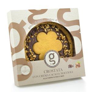 Tarte crostata à la crème de gianduja 300 g