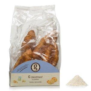 Croissants classiques sans sucre 6pièces 240g 240g