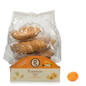Croissants végans à l'abricot 5pièces 200g