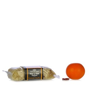 Fleur de sel à la mandarine et au poivre rose 160 g