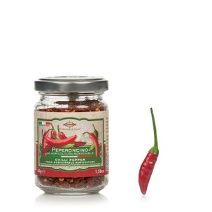 Piment concassé en pot 45 g