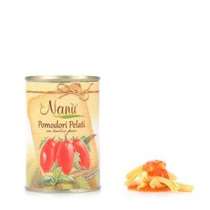 Tomates pelées au Basilic 400 g