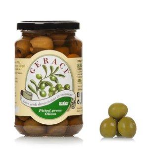 Olives vertes dénoyautées 180g
