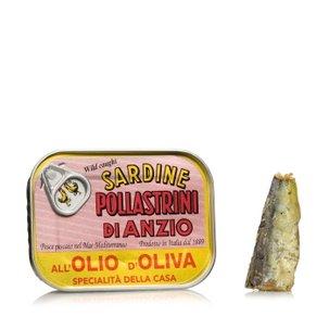 Sardines à l'huile d'olive 100g 100g