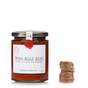 Anchois et sauce au fenouil 290g