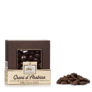 Grains de café Arabica enrobés 120 g