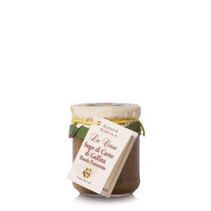 Sauce à la viande de poule blonde piémontaise 180 g