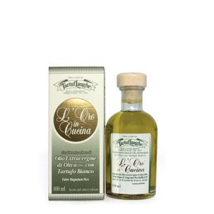 Huile d'Olive Extra Vierge à la Truffe Blanche  100ml