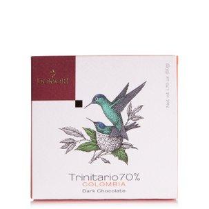 Tablette de chocolat 70% Trinitario Colombie 50g