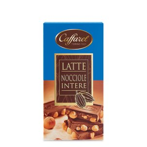 Tablette de chocolat au lait aux noisettes  150g