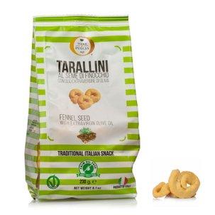 Tarallini au fenouil 230g 0,23