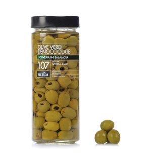 Olives vertes dénoyautées 580 g
