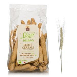 Gressins Sfizzi graines et céréales biologiques 200g