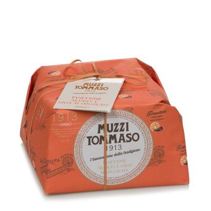 Panettone mit Schokoladentropfen und Orangecreme 1Kg